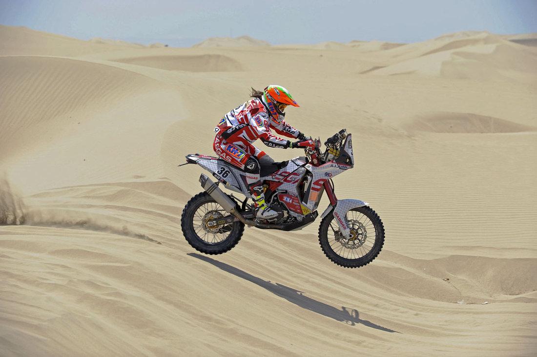 Dakar 2013 - 3. etapa - Laia SANZ (ESP) - Gas Gas