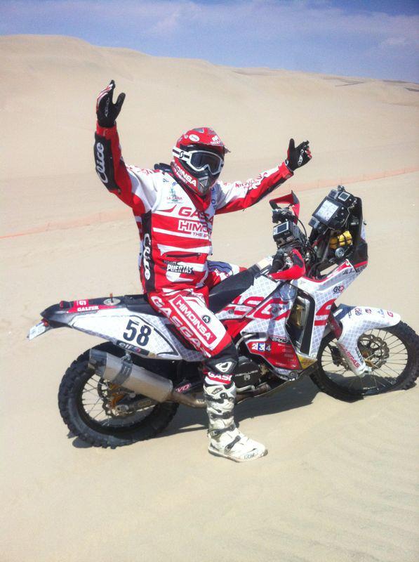 Dakar 2013 - 3. etapa - Miguel PUERTAS HERRERA (ESP) - Gas Gas