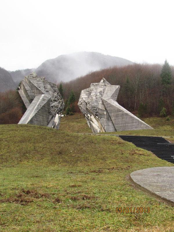 Pamätník Tjentište, Bosna a Hercegovina - Bod záujmu