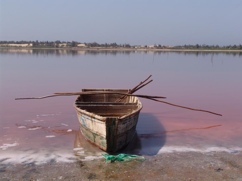 Ružové jazero