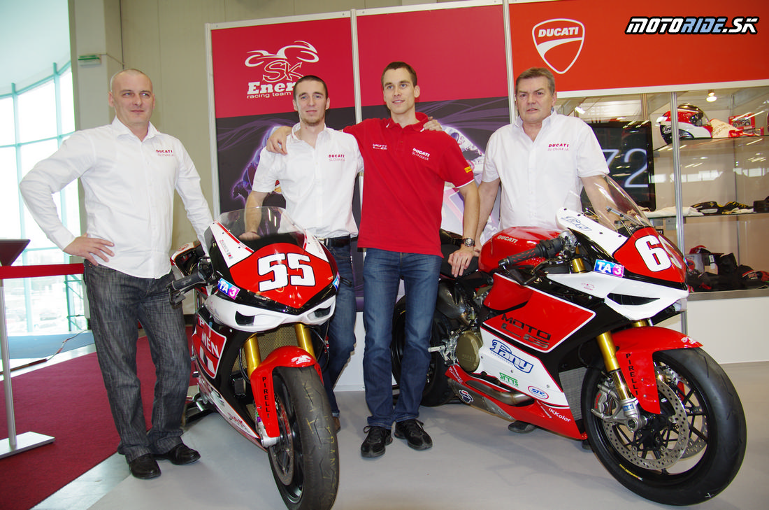 SK Energy tím - Tomáš Svitok - výstava Motocykel 2013