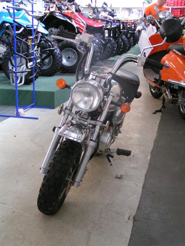 Hlavná cena motocykel <b>Adams JC 50 Q 7</b>