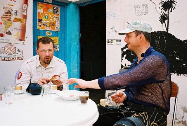 Gažko a Daniel v Bordj El Khadre