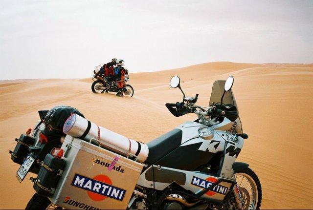 Na ceste púštou do El Bormy