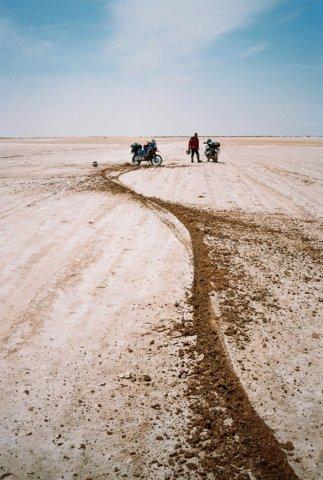 Pád na solnom jazere