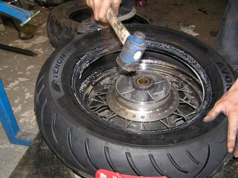 Nasadzovanie novej pneumatiky