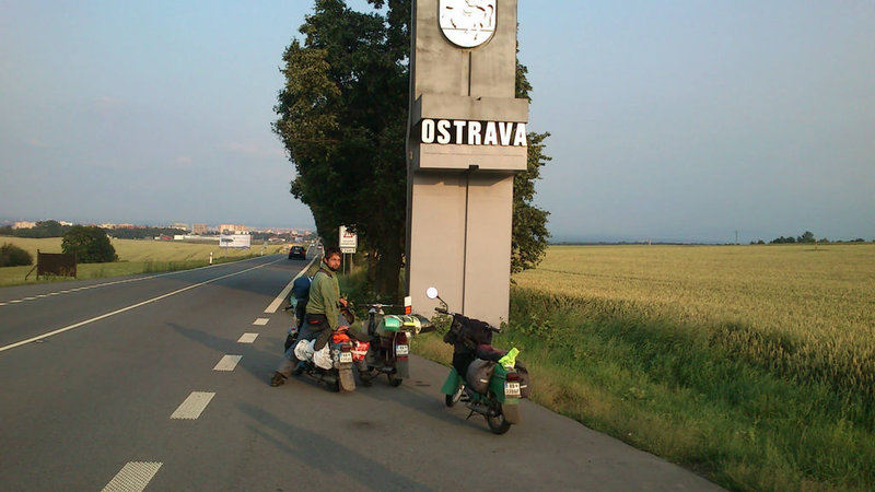 Cesta NAPIONIERI na 24 hodinovku do Novej Paky ostrava