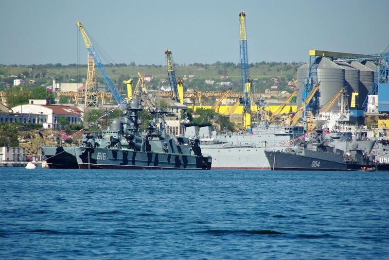 Sevastopoľ, vojenský prístav.