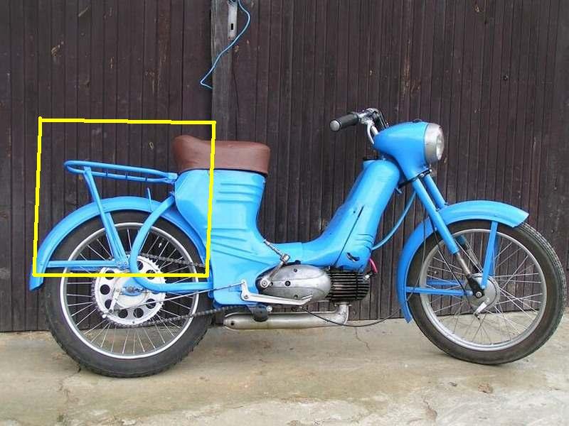 bicyklový nosič na modeli C