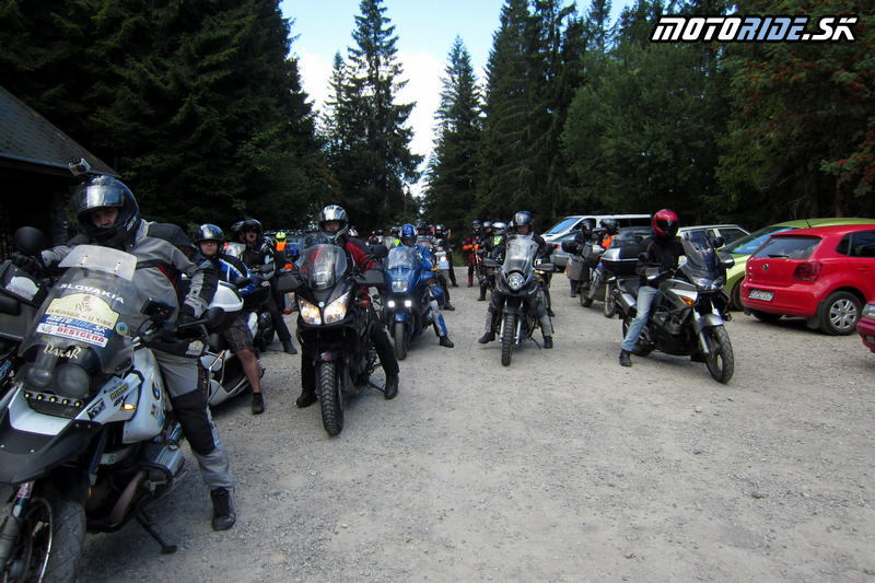 12. Motoride stretko 2013, jazero Izra, Slanské vrchy