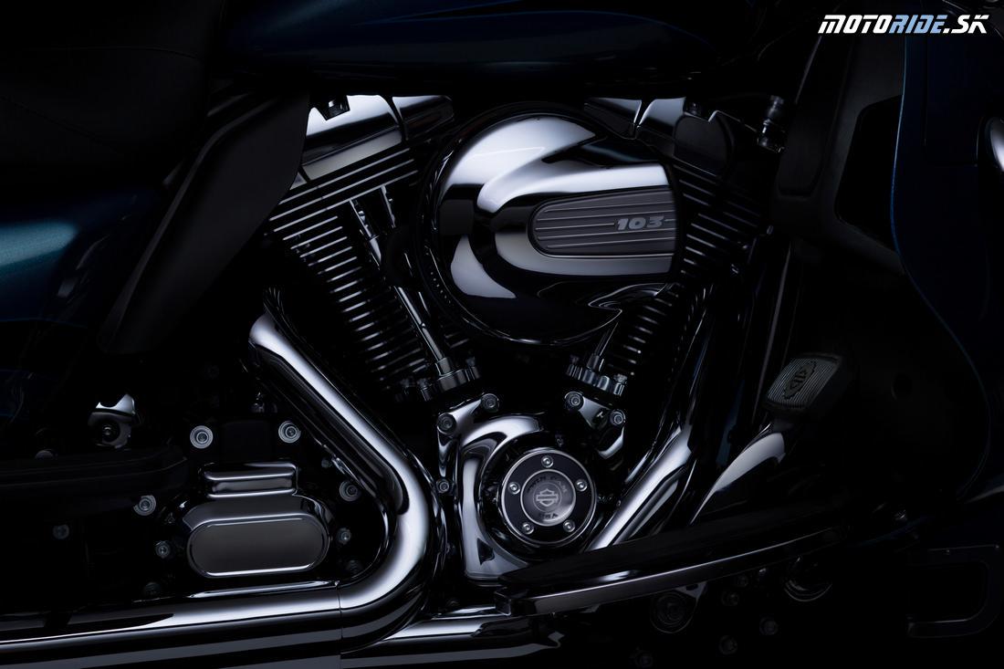Harley-Davidson modely 2014 - projekt Rushmore
