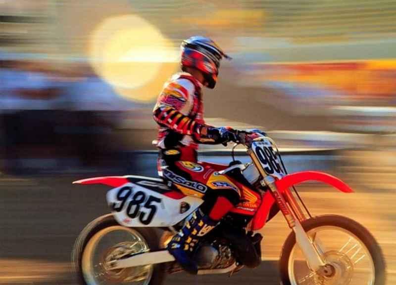 Krosová motorka