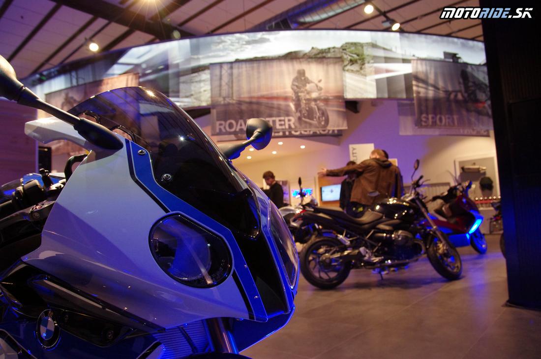 Otvorenie BMW Mottorad v Banskej Bystrici