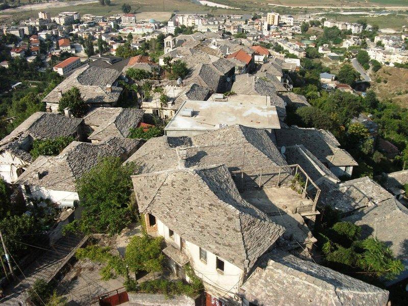 Mesto Gjirokaster - kamenné mesto, Albánsko - Bod záujmu