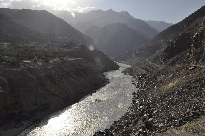 Tajikistan - Pamir - na hranici s Afganistanom