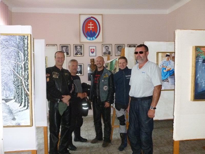 Navsteva Slovenskeho domu v Bacskom Petrovci, v Srbsku
