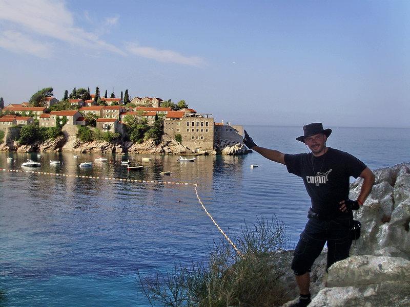 Súkromny ostrov  - grecky hotel Sveti Stefan v Ciernej Hore