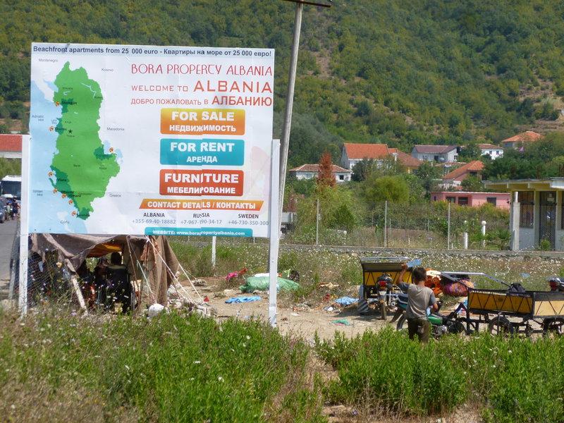 Albanska hranica
