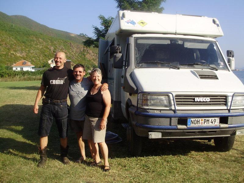 Ullrich a Annie - Nemecko-australsky parik dochodcov na cestach po Europe