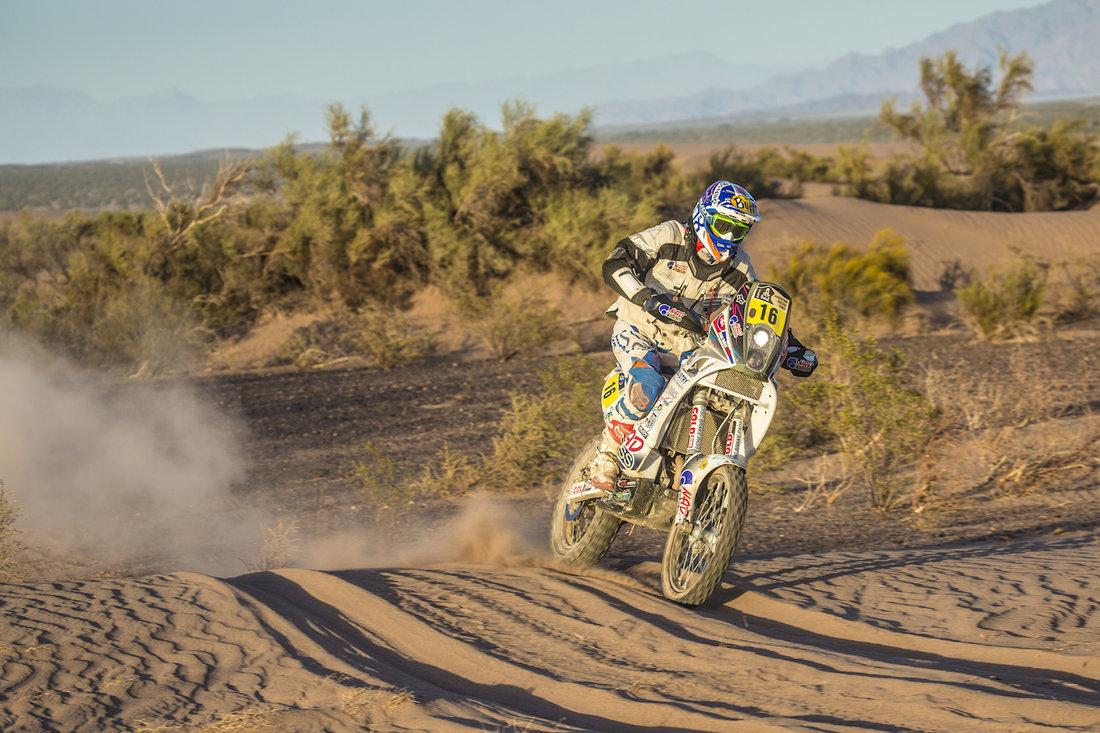 Dakar 2014 - 5. etapa - Ivan Jakeš