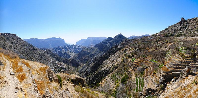 Jebel Akhdar, Omán - Bod záujmu