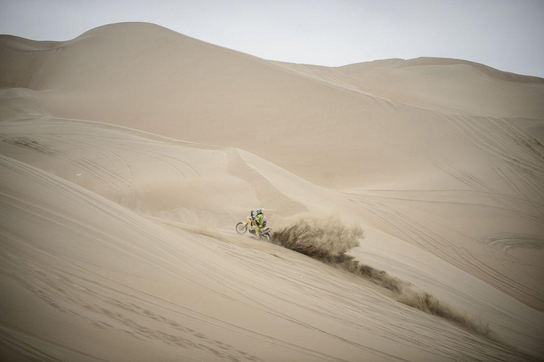 Dakar 2014 - 10. etapa - BRETT CUMMINGS