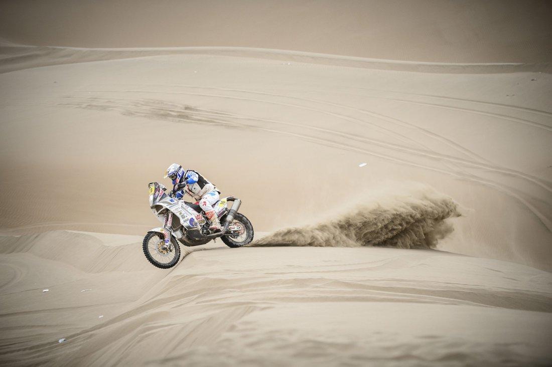 Dakar 2014 - 10. etapa -Ivan Jakeš