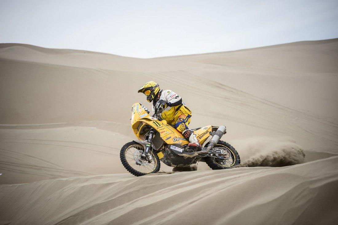 Dakar 2014 - 10. etapa - Štefan Svitko
