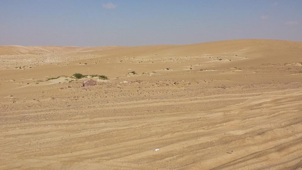 """Fotky zo vcerajsieho prechodu Wahiba sands. Krasne a narocne. Vecer spanie u beduinov a rano tankovanie """"draheho"""" benzinu. — v Masirah Island, Oman"""