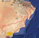 Omán 2014 - Mapa - Salalah Beach Villaa.