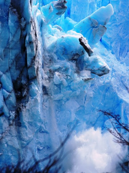 Jawa okolo sveta - 21 - Patagónia  - ľadovec Perito Moreno