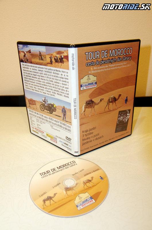 DVD TOUR DE MOROCCO cesta do piesočných dún Sahary