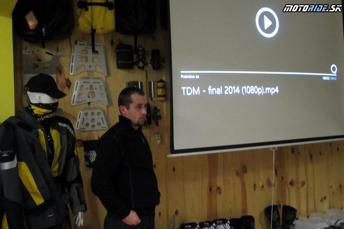 Premietanie filmu Tour de Morocco - 15. 2. 2014, Poprad