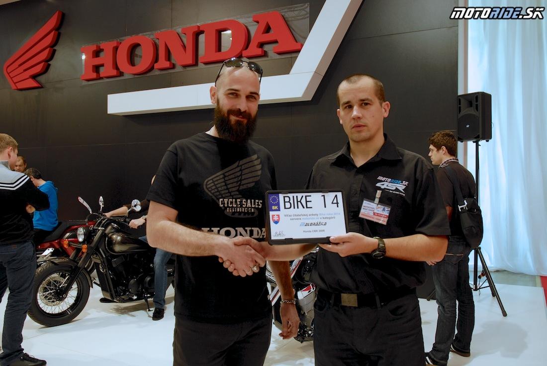 Motocykel 2014 - odovzdavanie cien Bike roka