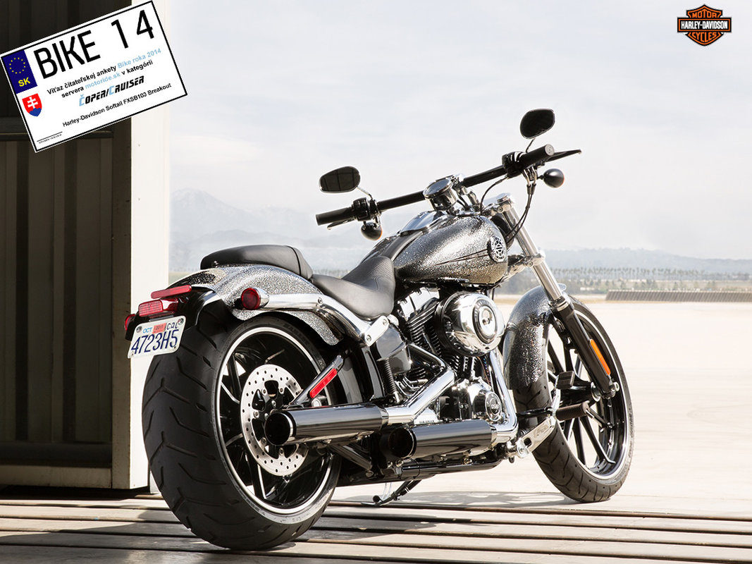 Bike roka 2014 Chopper Cruiser - Harley-Davidson Softail FXSB103 Breakout 2014