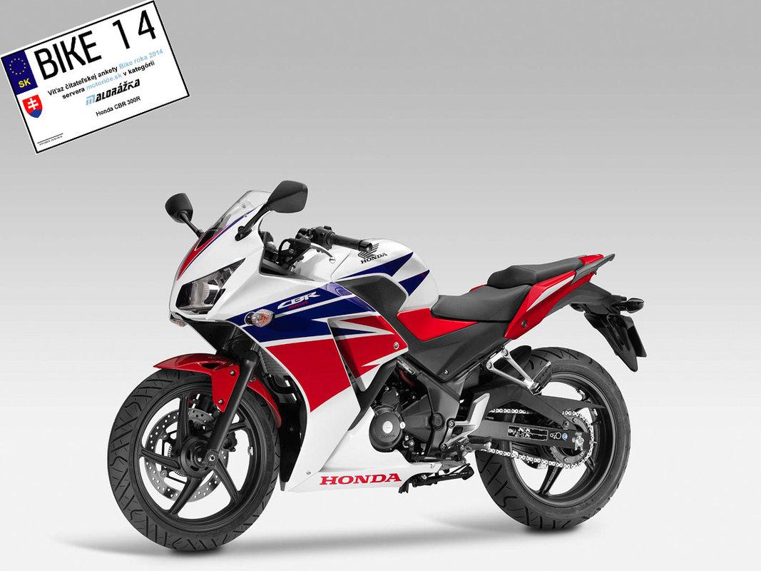 Bike roka 2014 - Malorážka - Honda CBR 300 R