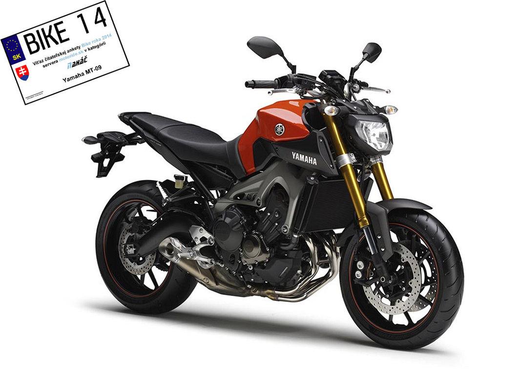 Bike roka 2014 - Naháč - Yamaha MT-09