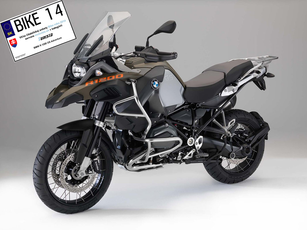 Bike roka 2014 - Turista - BMW R 1200 GS Adventure