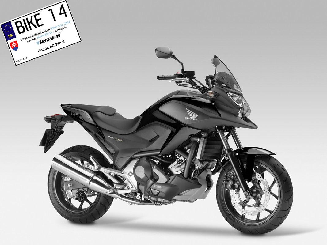 Bike roka 2014 - Všestranný - Honda NC 750 X