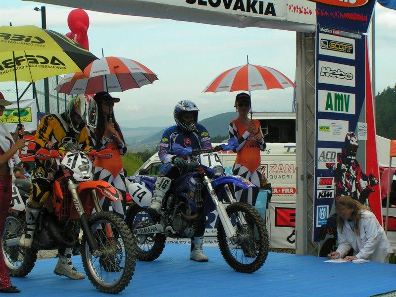 Enduro Krompachy 2006 - Peter Podhorský na štarte