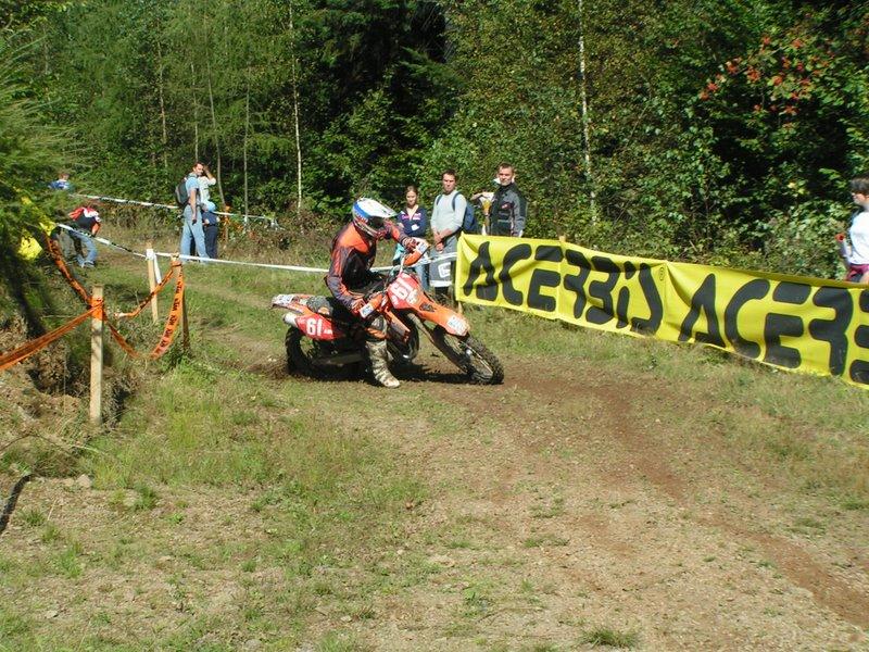 Enduro Krompachy 2006 - Jaroslav Katriňák na Xtreme Teste