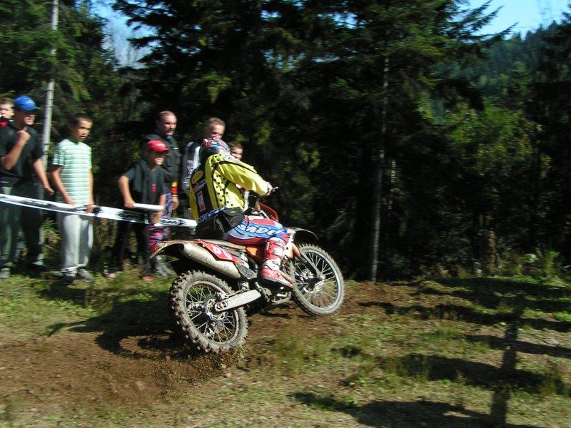 Enduro Krompachy 2006 - Juraj Dózsa na Xtreme Teste