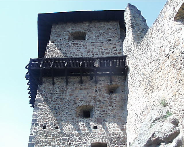 pochoz na hradnej bašte