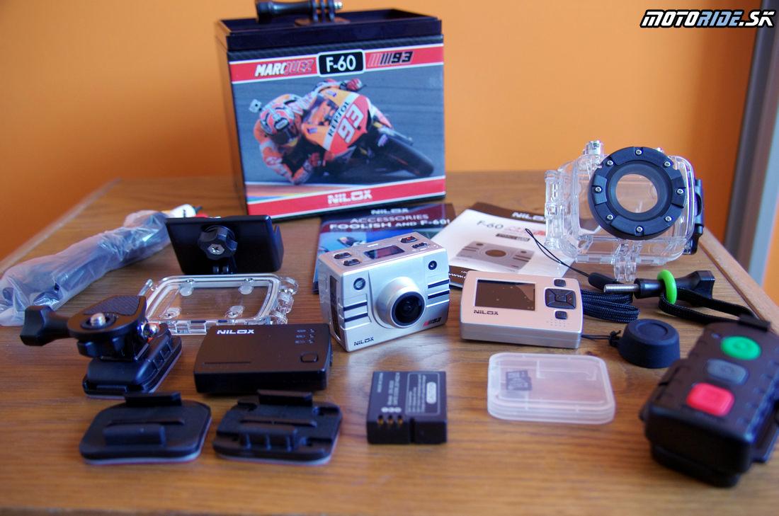 Vyskúšali sme akčnú kameru Nilox F-60 MM93 Marc Márquez  motoride.sk e0dbd07f016