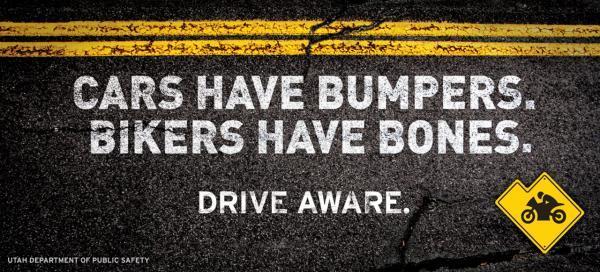 Autá majú nárazníky, motorkári majú kosti.