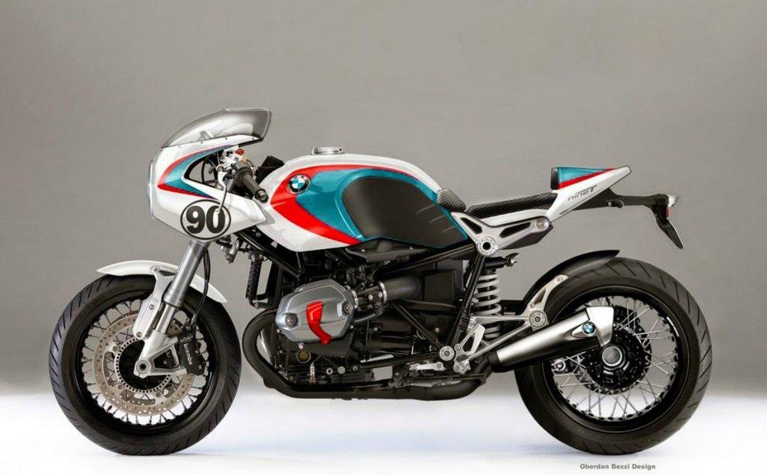 BMW R NineT by Oberdan Bezzi