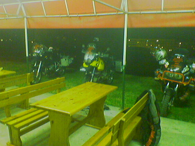 Interhotel Russa, nocľah na benzínke