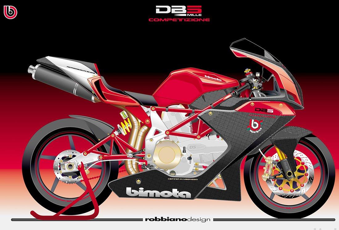Bimota DB5 Mille Competizione