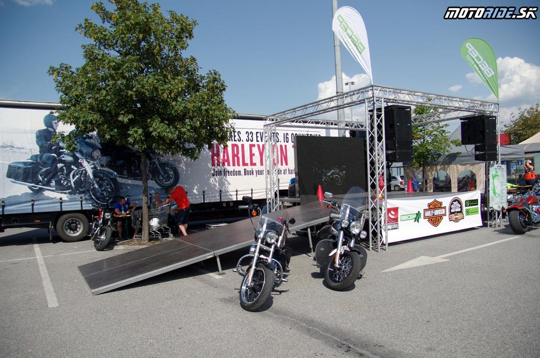 Harley on Tour Košice 2014