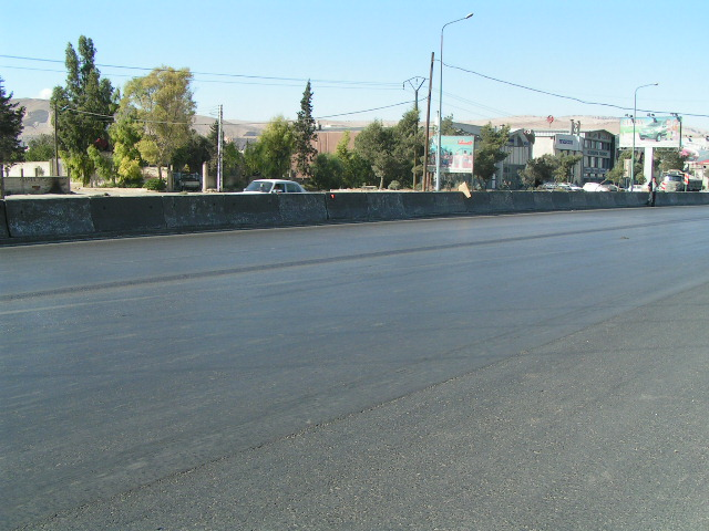 Miesto nehody - Damasek.